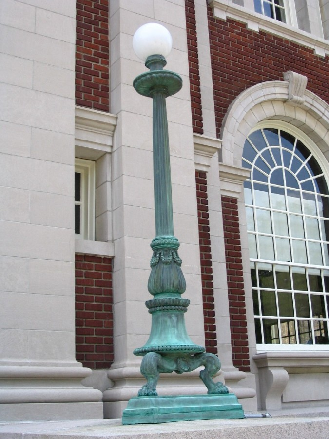 Ornamental Metalwork Conservation for Connecticut Courthouse
