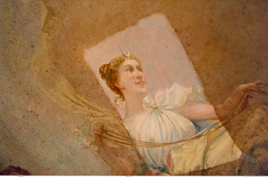 Historic Mural and Wallpaper Restoration -- The Breakers