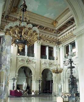 Chandelier Conservation & Repatination: The Breakers