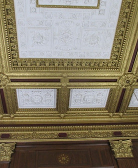 Decorative Plaster & Gilt Restoration: US District Courthouse