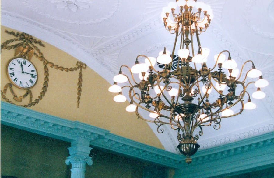 Massachusetts State House: Chandelier Conservation