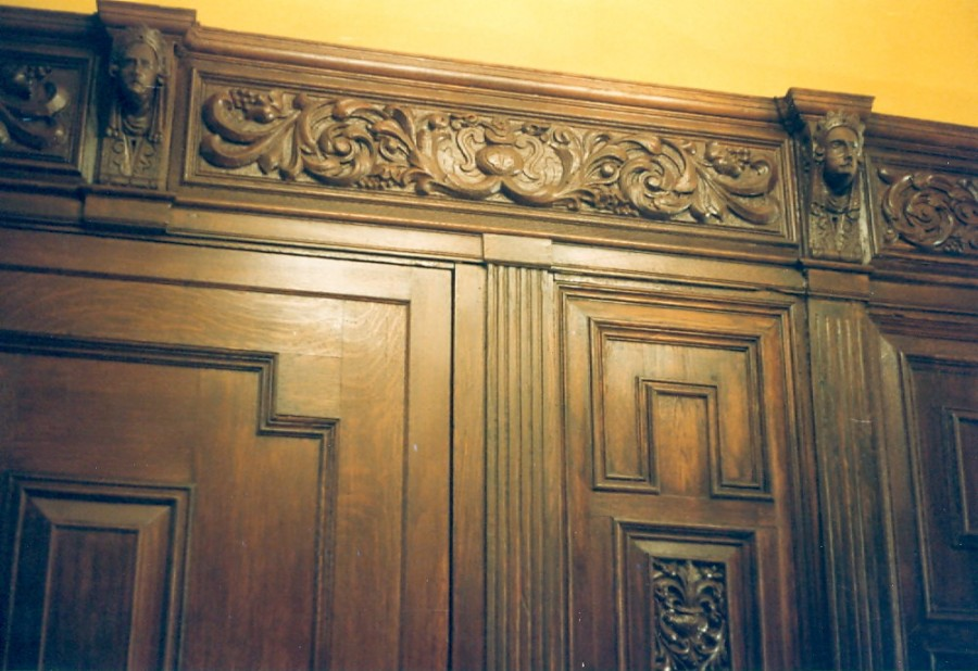 Historic Oak Paneling Conservation for Pell Mansion