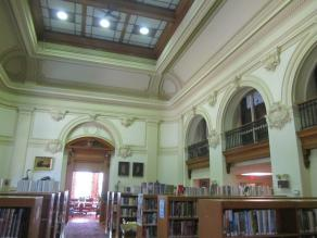 Decorative Plaster Conservation for Library Water Damage