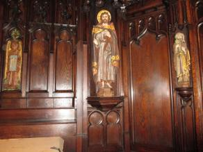 Church of the Advent: Wood Finish Conservation